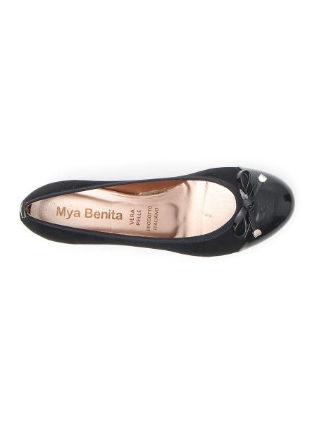 BALLERINE MYA BENITA 4091 donna nero | Pittarello