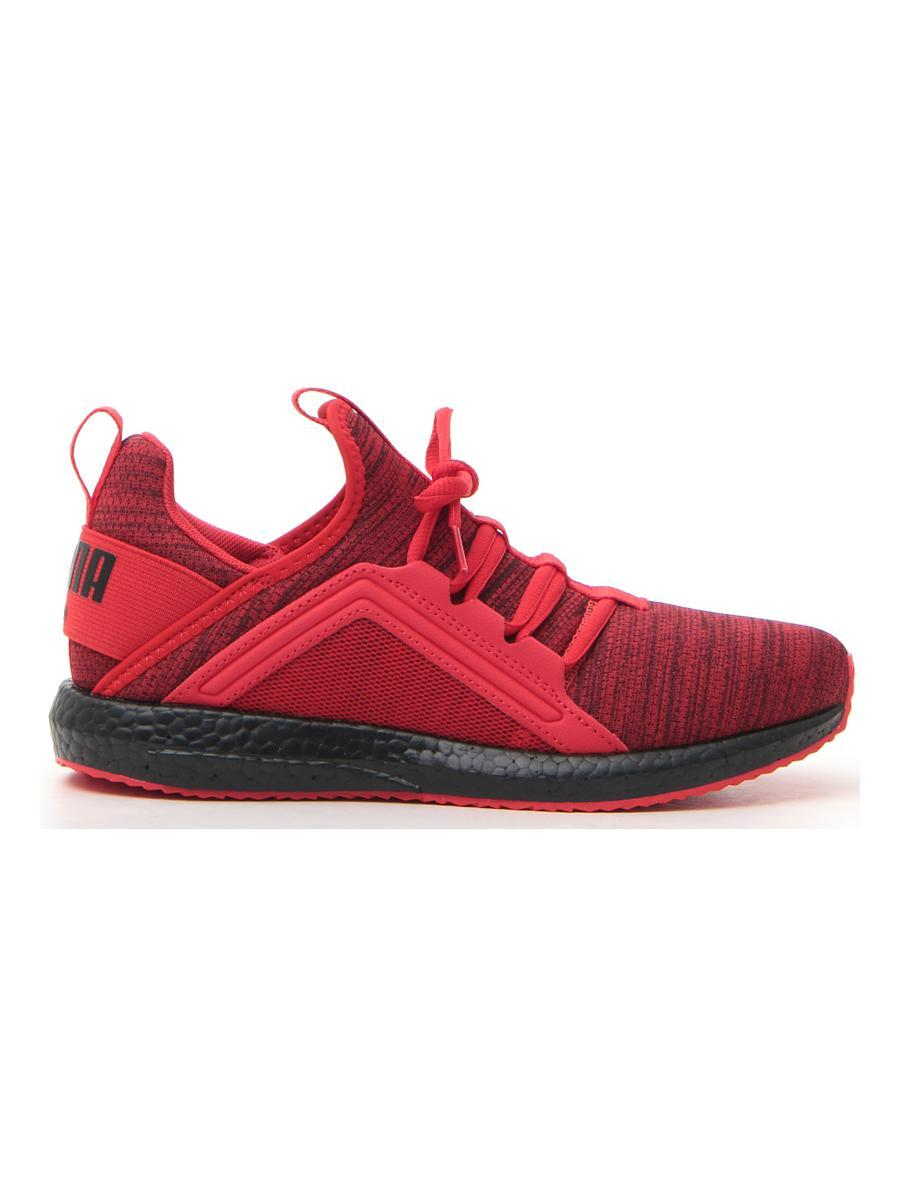 SNEAKERS PUMA MEGA NRGY HEATHER KNIT JR bambino rosso | Pittarello