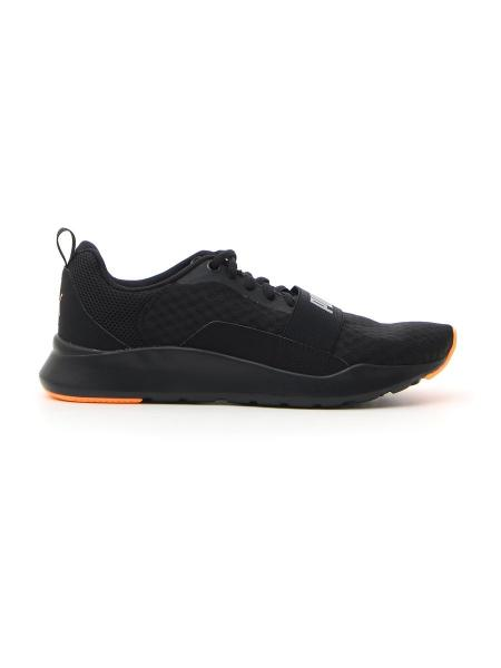 FITNESS PUMA WIRED MESH uomo nero | Pittarello