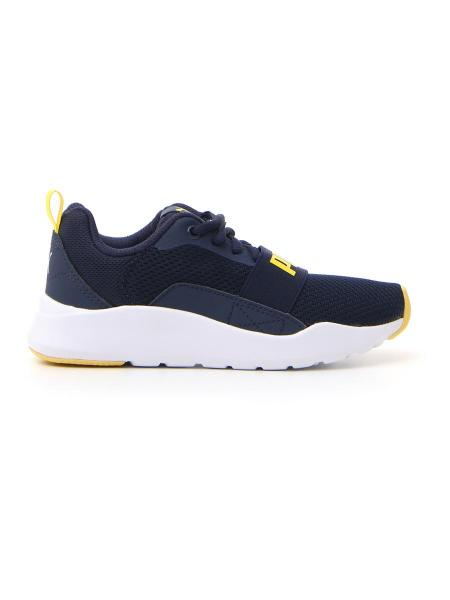 FITNESS PUMA WIRED PS bambino blu | Pittarello