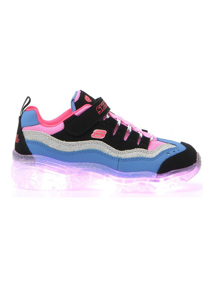SNEAKERS SKECHERS S LIGHTS-ICED D'LITES SNOW SPARK bambina nero | Pittarello