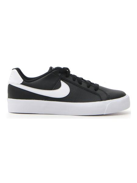 SNEAKERS NIKE WMNS COURT ROYALE AC donna bianco/nero | Pittarello