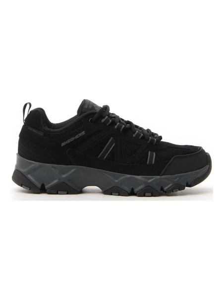 SNEAKERS SKECHERS CROSSBAR uomo nero | Pittarello