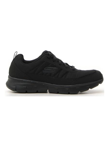 SNEAKERS SKECHERS SYNERGY 3.0 uomo nero | Pittarello