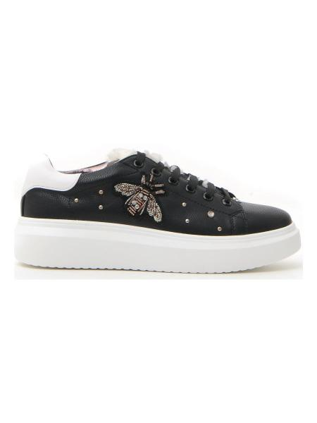 SNEAKERS PUSHY WAMP 150 donna nero | Pittarello