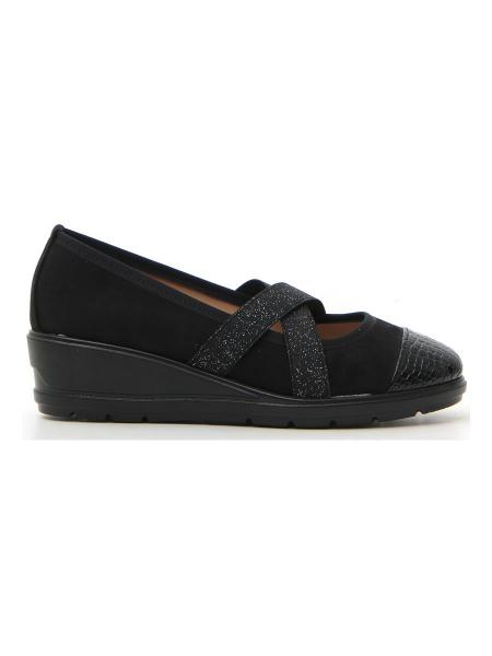 BALLERINE ROCK' N DOLL 1501 donna nero | Pittarello