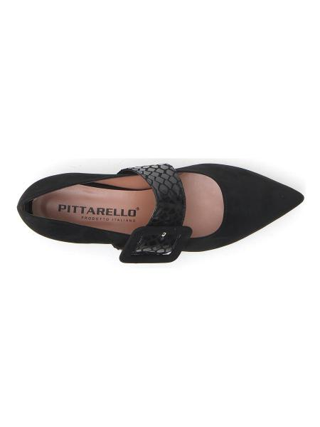 BALLERINE PITTARELLO 7370 donna nero | Pittarello
