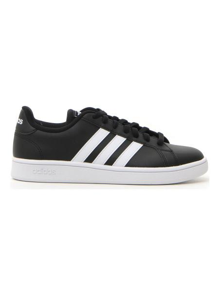 SNEAKERS ADIDAS GRAND COURT BASE uomo nero | Pittarello