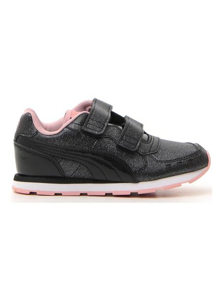 SNEAKERS PUMA VISTA GLITZ V PS bambina nero | Pittarello