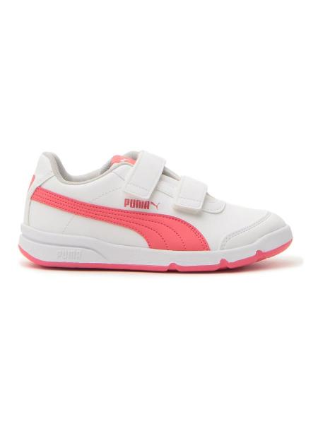 SNEAKERS PUMA STEPFLEEX 2 SL VE V PS bambina bianco | Pittarello