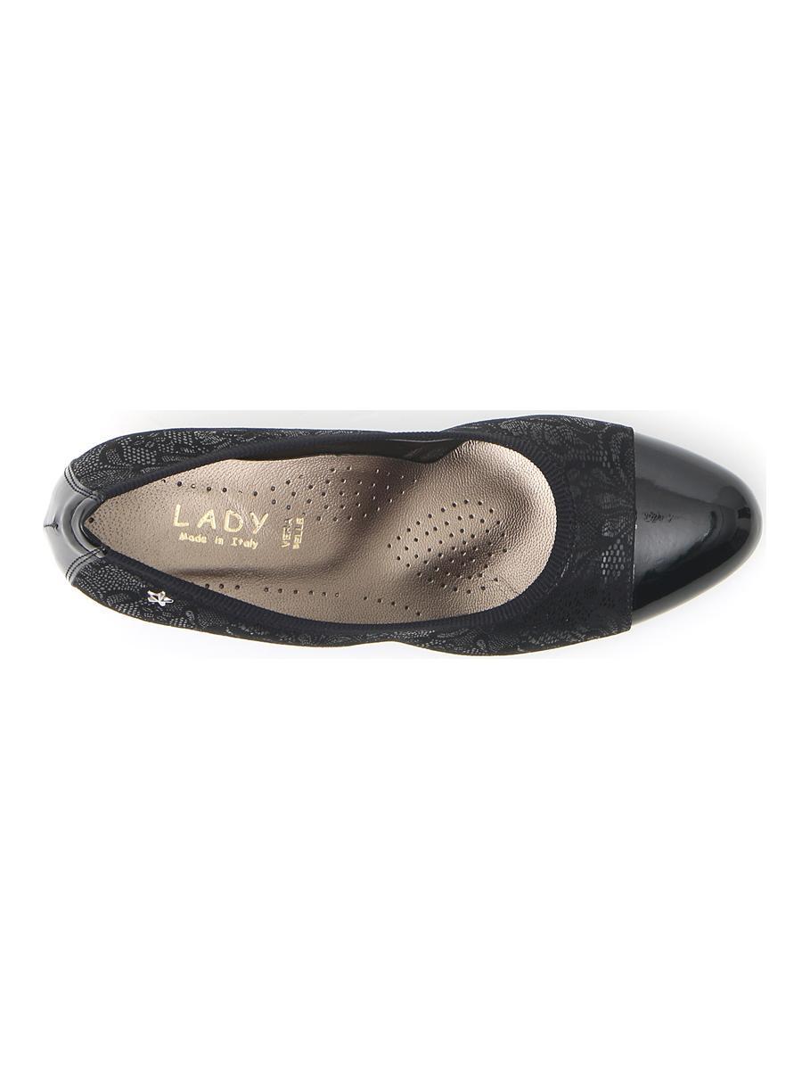BALLERINE donna nero LADY 9508 | Pittarello