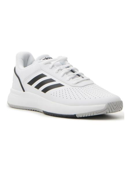 FITNESS ADIDAS COURTSMASH uomo bianco/nero | Pittarello