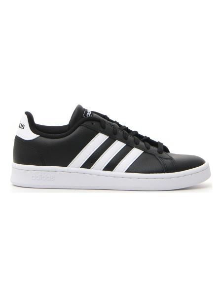 SNEAKERS ADIDAS GRAND COURT uomo bianco/nero | Pittarello