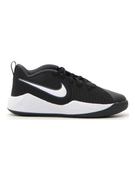BASKET NIKE TEAM HUSTLE QUICK 2 (GS) bambino nero | Pittarello