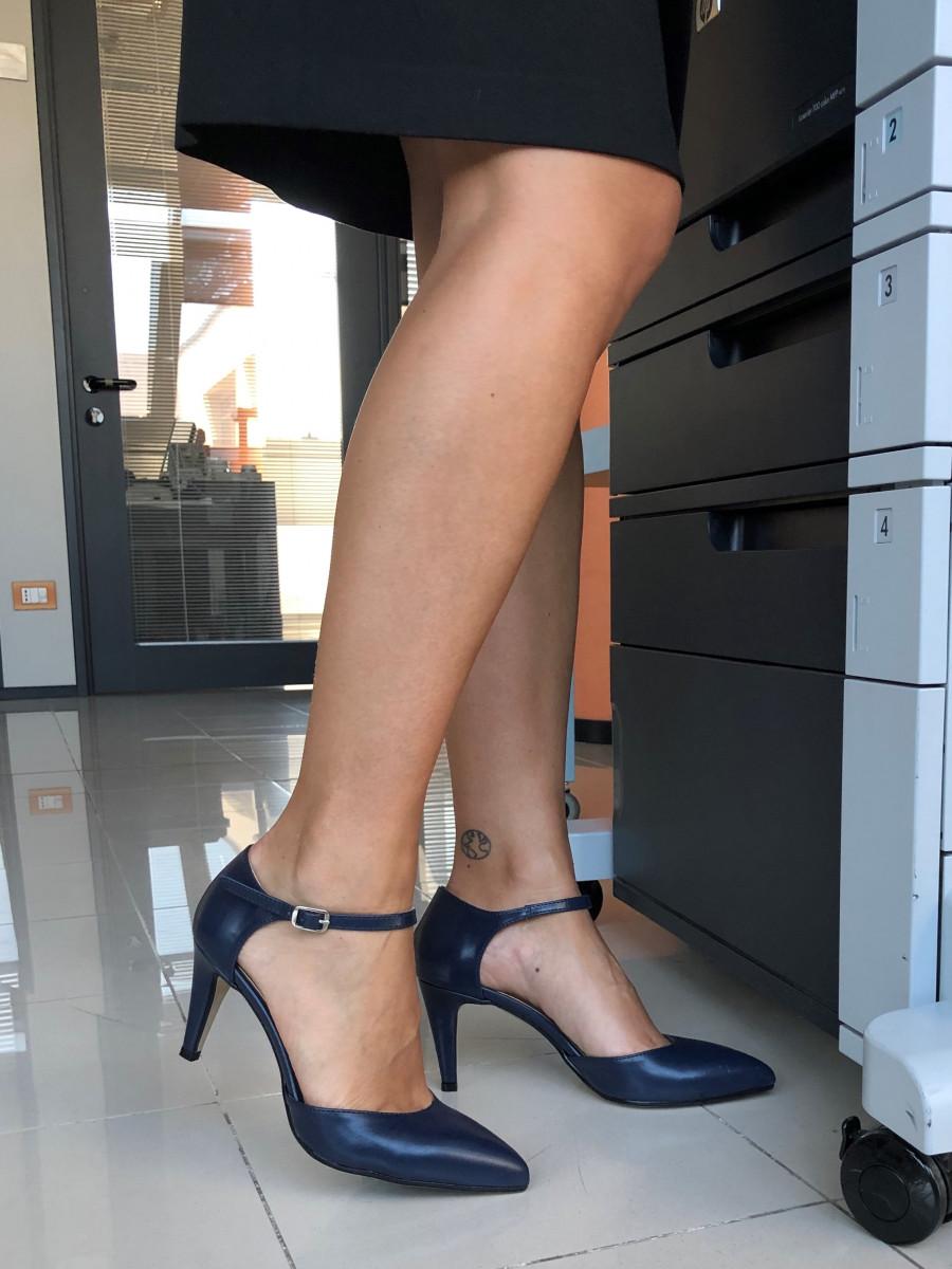 DÉCOLLETÉ PITTARELLO 476 donna blu | Pittarello