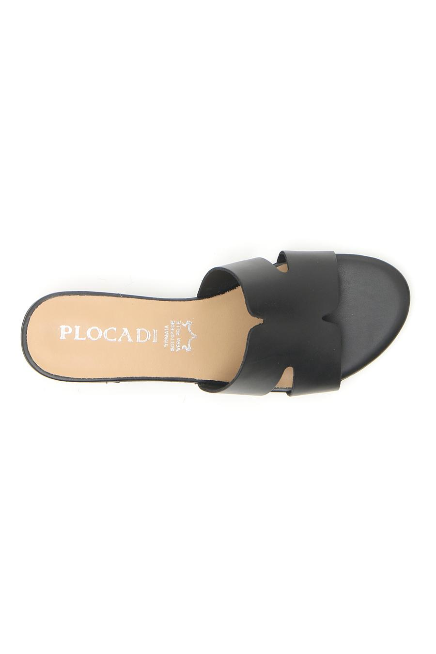 CIABATTE donna nero PLOCADI 10200 | Pittarello