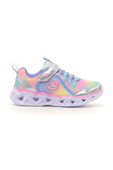 SNEAKERS SKECHERS S LIGHTS HEART LIGHTS RAINBOW LUX bambina multicolore | Pittarello