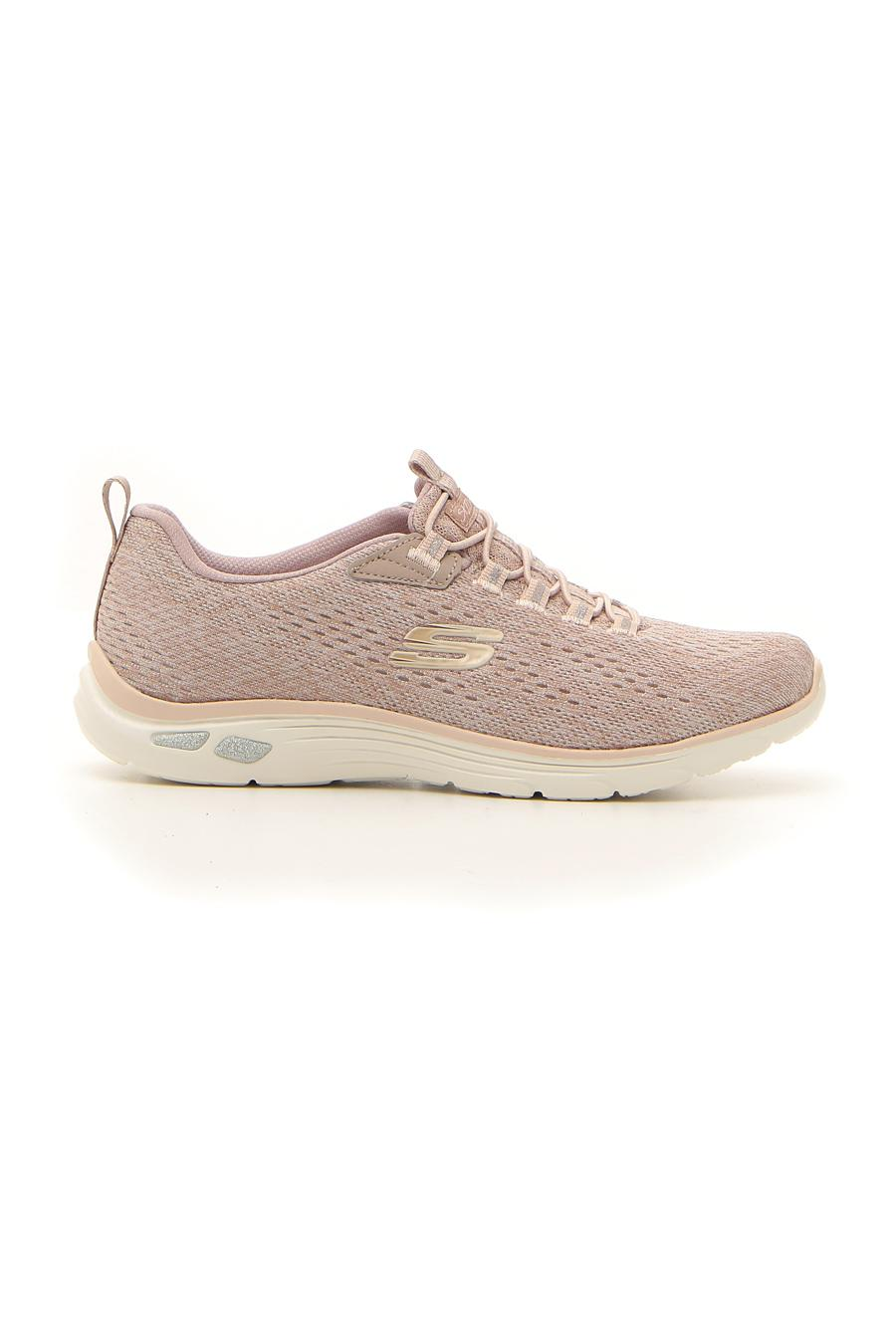 FITNESS SKECHERS LIVELY WIND donna rosa | Pittarello