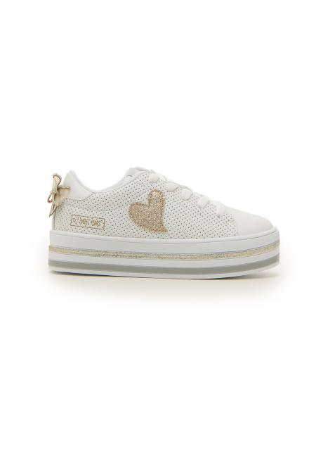 SNEAKERS SWEET YEARS 214 bambina bianco | Pittarello
