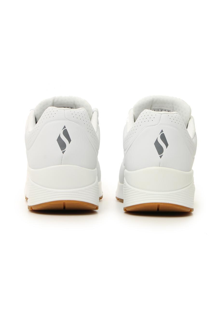 SNEAKERS SKECHERS UNO STAND ON AIR WHITE uomo bianco | Pittarello