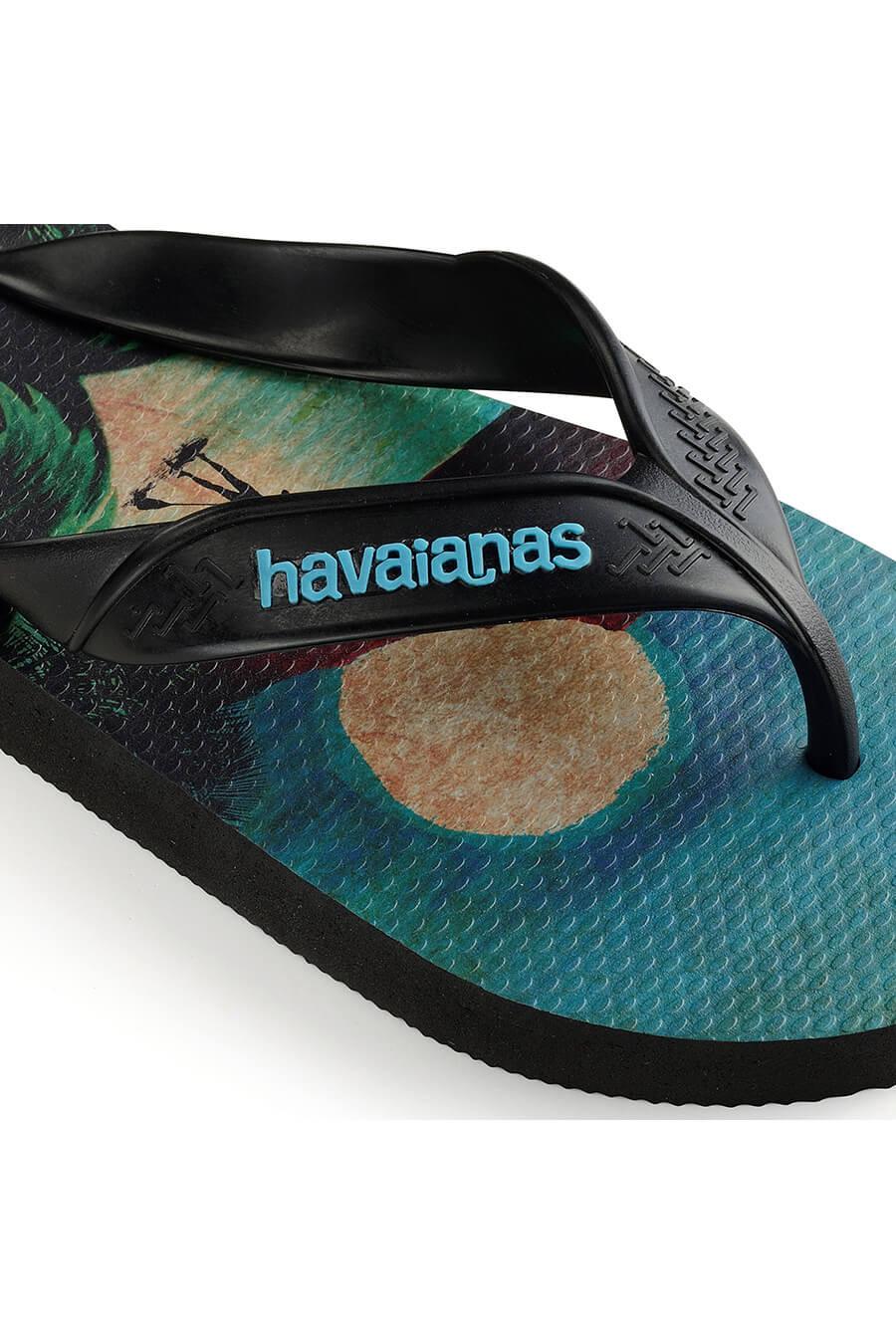 CIABATTE uomo nero HAVAIANAS SURF   Pittarello