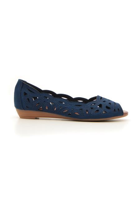 BALLERINE PLOCADI 32409 donna blu | Pittarello