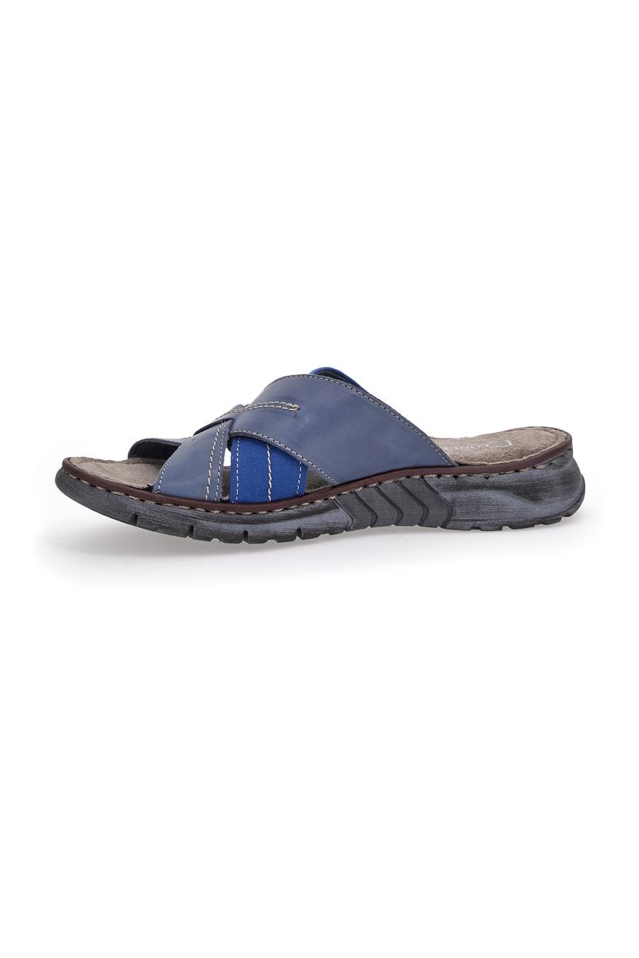 CIABATTE uomo blu LONGFORD 38403 | Pittarello