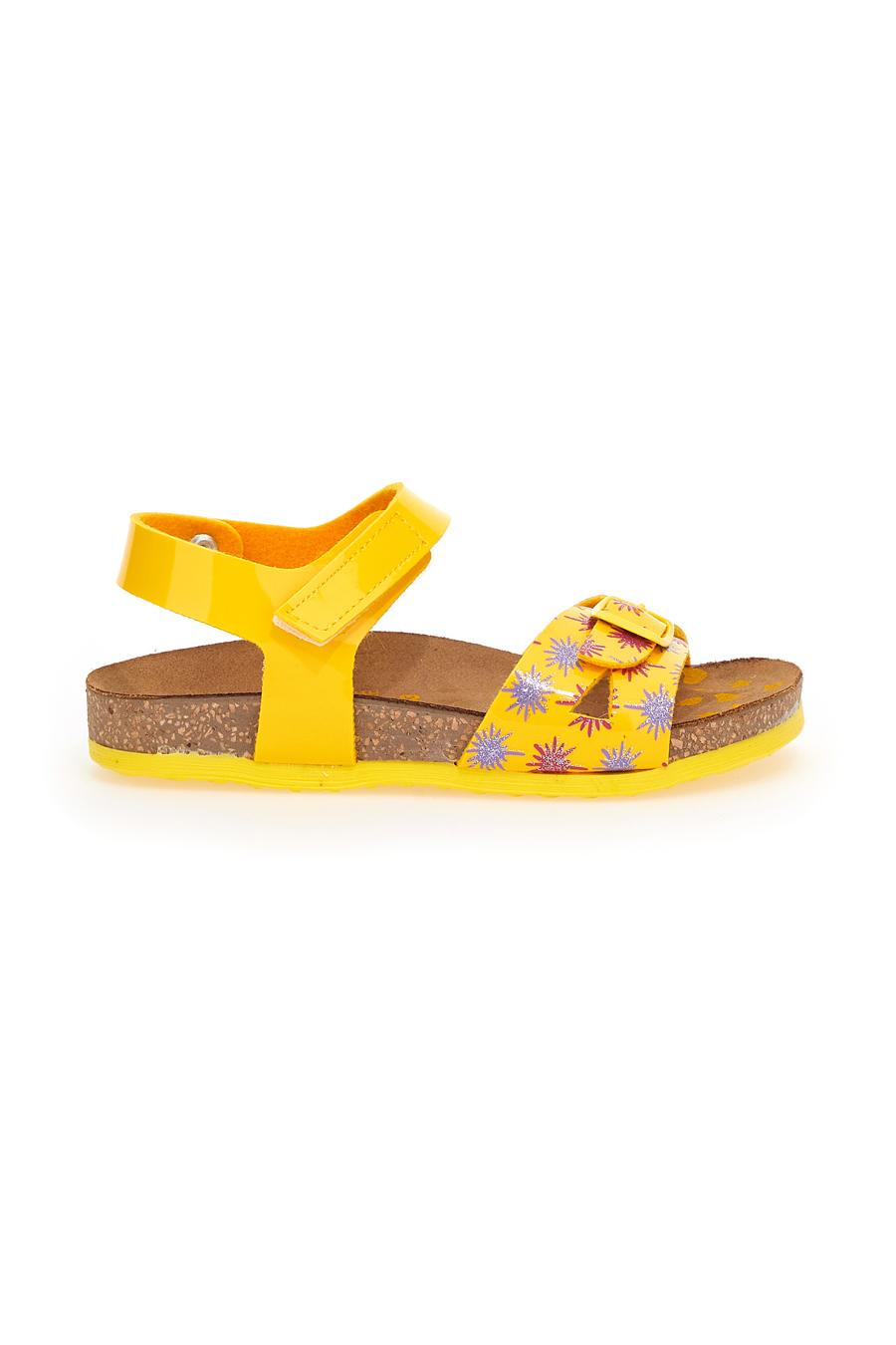 SANDALI bambina giallo PITTARELLO 257183 | Pittarello