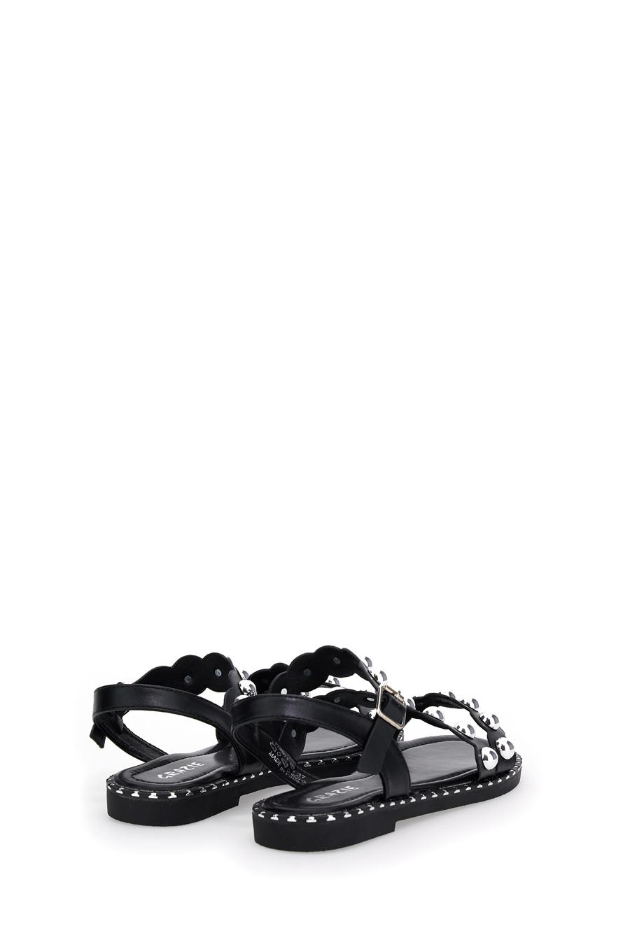 SANDALI donna nero GRAZIE 305013 | Pittarello