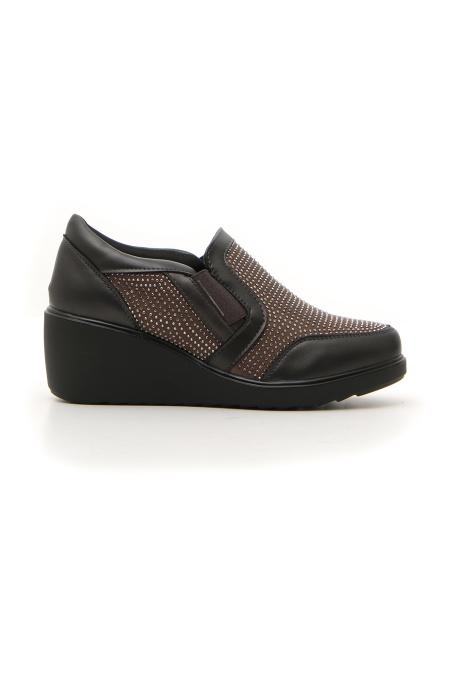 SNEAKERS donna grigio VANY CLIPPS 890115 | Pittarello