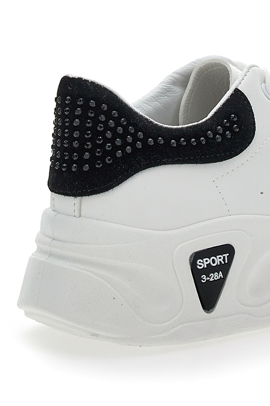 SNEAKERS PUSHY WAMP 6603 donna bianco/nero | Pittarello