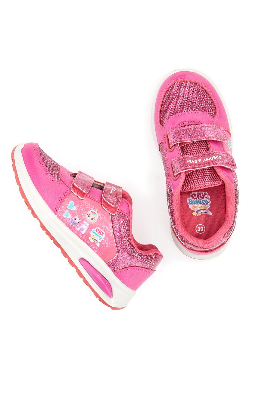 SNEAKERS CRY BABIES 2725 bambina rosa   Pittarello