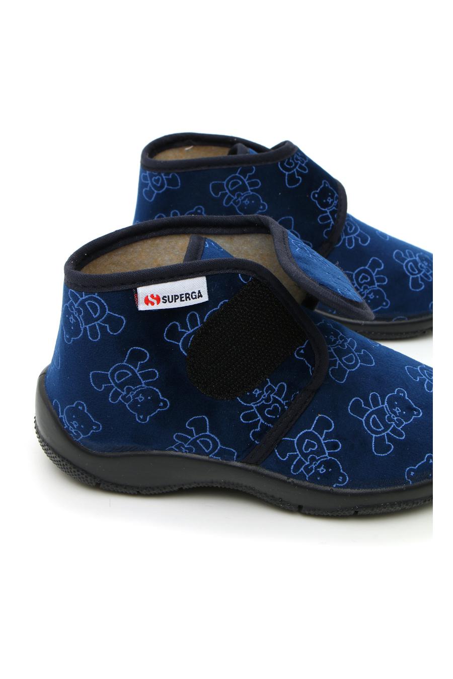 PANTOFOLE bambino blu SUPERGA 21115   Pittarello